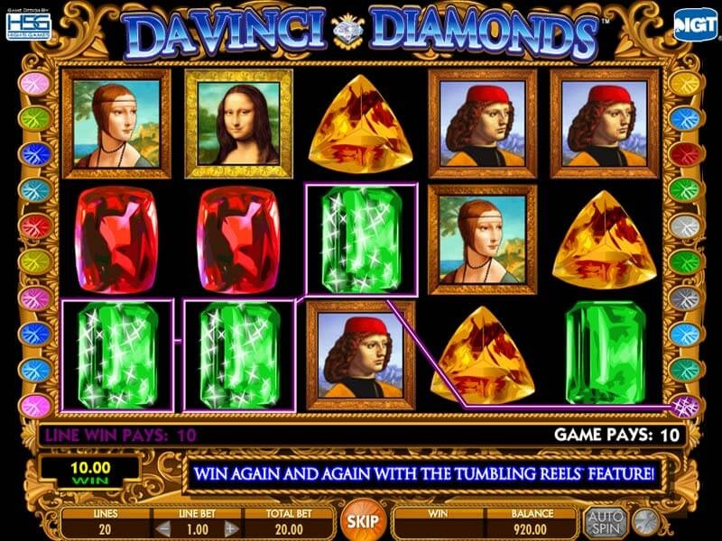 Davinci Diamonds Slot Review